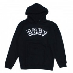 "OBEY パーカ ""OBEY NEW WORLD PULLOVER HOOD"" (Black)"