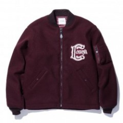 "RADIALL ジャケット ""HEMI FLIGHT JACKET"" (Burgundy)"