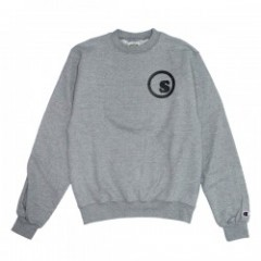 "★30%OFF★seedleSs ""SD CHAMPION CREW LOGO SWEAT""Gray"