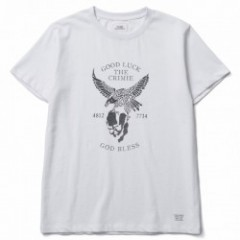 "CRIMIE Tシャツ ""CR EAGLE T-SHIRT"" (White)"