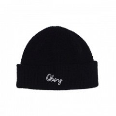 "OBEY ビーニー ""LIONEL PATCH BEANIE"" (Black)"