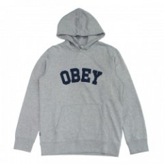 "OBEY パーカ ""WATSON HOOD"" (Heather Gray)"