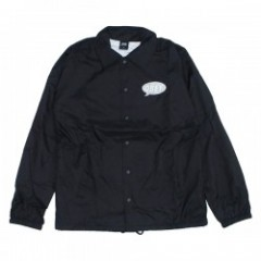 "OBEY コーチジャケット ""SMALL TALK COACHES JACKET"" (Black)"