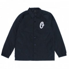 "OBEY コーチジャケット ""SANDERS COACHES JACKET"" (Black)"
