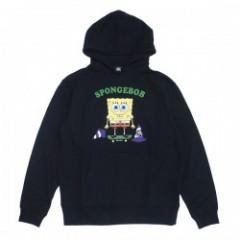 "★30%OFF★ SPONGEBOB×MxMxM ""SKATE FOR FUN PARKA"" Blk"