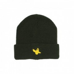 "KROOKED ビーニー ""YG BIRD EMB CUFF BEANIE"" (Dark Army)"