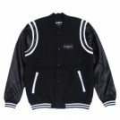 "Deviluse スタジャン ""STADIUM JKT"" (Black)"