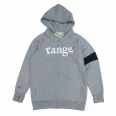 "range ""RANGE COLOR COMBINATION ZIP HOODY"" (H.Gray)"