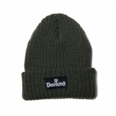 "Deviluse ビーニー ""LOGO BEANIE"" (Olive)"
