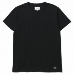 "CRIMIE Tシャツ ""PREMIUM CREW NECK POCKET TEE"" (Black)"