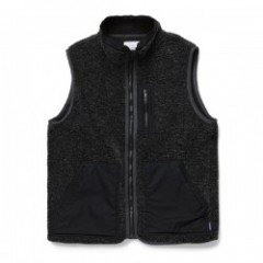 "RADIALL ボアベスト ""WALKING DOG BOA VEST"" (Black)"