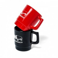 "ANIMALIA マグカップ ""PLASTIC MUGS-BUFFALO"""