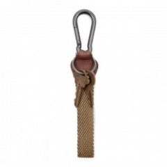 "BRIXTON キーチェーン ""PLUCK KEY CHAIN"" (Brown/Khaki)"