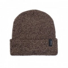 "BRIXTON ビーニー ""HEIST BEANIE"" (Brown/Tan)"