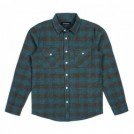 "BRIXTON L/Sシャツ ""BOWERY L/S FLANNEL"" (Ocean)"