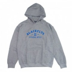 "BLACKFLYS パーカ ""ATHLETIC PULLOVER HOODIE"" (Gray)"