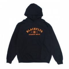 "BLACKFLYS パーカ ""ATHLETIC PULLOVER HOODIE"" (Black)"