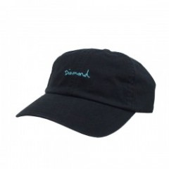 "Diamond Supply Co. ""OG SCRIPT SPORTS HAT"" (Black)"