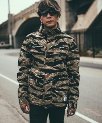 "★30%OFFCRIMIE ジャケット ""HOODED MILITARY PARKA"" (Camo)"