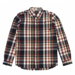 Diamond Supply Co. EMBARCADERO PLAID FLANNEL Cream