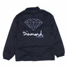 "Diamond Supply Co. ""OG SIGN COACHES JACKET"" (Black"