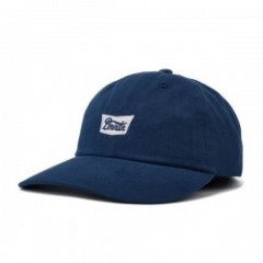 "BRIXTON キャップ ""STITH LP CAP"" (Washed Navy)"