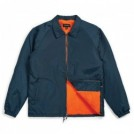 "BRIXTON ジャケット ""CLAXTON COLLAR SHERPA JACKET"" (Captain Blue)"