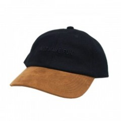 "JHF キャップ ""SUEDE DAD HAT"" (Black)"