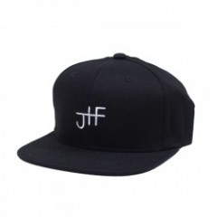 "JHF キャップ ""BACK 2 BASICS SNAPBACK CAP"" (Black/White"