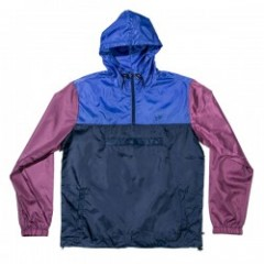 "JHF ジャケット ""HAPPY CAMPER JACKET"" (Navy/Burgundy)"