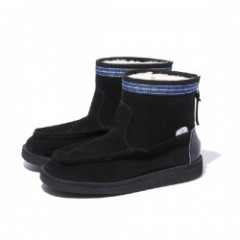 "★30%OFF★ RADIALL×SUICOKE ムートンブーツ ""RED WOOD MOUTON BOOTS"" (Black)"