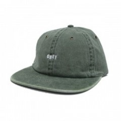 "OBEY キャップ ""HADLEY 6 PANEL STRAPBACK CAP"" (Army)"