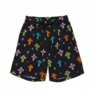 "【3〜4月入荷予定】MSML ショーツ ""CROSSES WIDE SHORTS"" (Black)"