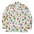 "【2〜3月入荷予定】MSML L/Sシャツ ""CROSSES OPEN COLLAR LONG SLEEVE SHIRT"" (White)"