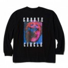 "【2〜3月入荷予定】MSML L/STシャツ ""CAT OVERSIZED LONG SLEEVE TEE"" (Black)"