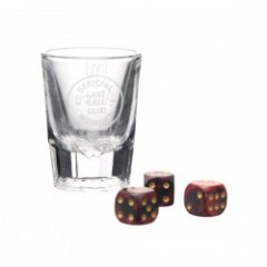 "BRIXTON ""GOOD TIMES"" (Shot Glass and Dice Set)"
