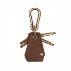 "BRIXTON キーチェーン ""HAVEN KEYCHAIN"" (Antique Bronze)"