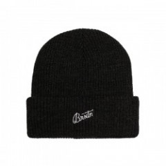"BRIXTON ビーニー ""REGGIE BEANIE"" (Washed Black)"