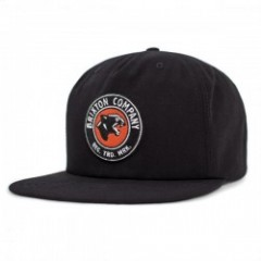"BRIXTON キャップ ""LEGION HP SNAPBACK CAP"" (Black)"