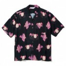 "【3〜4月入荷予定】MSML S/Sシャツ ""ANGEL OPEN COLLAR SHORT SLEEVE SHIRT"" (Black)"