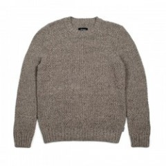 "BRIXTON セーター ""NEPTUNE SWEATER"" (Shale Brown)"