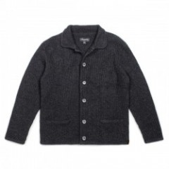 "BRIXTON カーディガン ""POWELL CARDIGAN"" (Washed Black)"