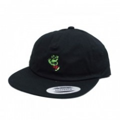 "SANTA CRUZ×TMNT コラボキャップ ""TMNT TURTLE HAND BASEBALL FLAT BRIM HAT"" (Black)"