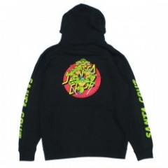 "SANTA CRUZ×TMNT コラボパーカ ""TMNT TURTLE POWER PULLOVER HOOD"" (Black)"