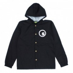 "seedleSs ""WATER PROOF BUTTON UP NYLON HOODY JKT"""