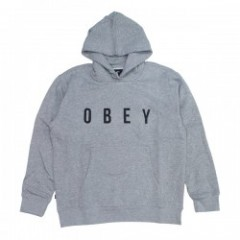 "OBEY パーカ ""ANYWAY HOOD"" (Heather Gray)"