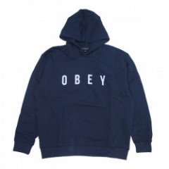 "OBEY パーカ ""ANYWAY HOOD"" (Navy)"