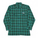 "PLUGS L/Sシャツ ""OMBRE CHECK SHIRTS"" (Green)"