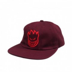 "SPITFIRE ""BIGHEAD UNSTRUCTURED 6 PANEL CAP"" Maroon"