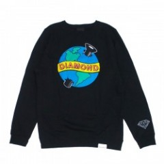 "DIAMOND SUPPLY CO. ""PANDEMIC CREWNECK"" (Black)"
